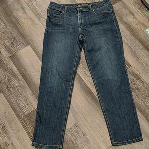 Chico's Platinum skinny jeans size 1